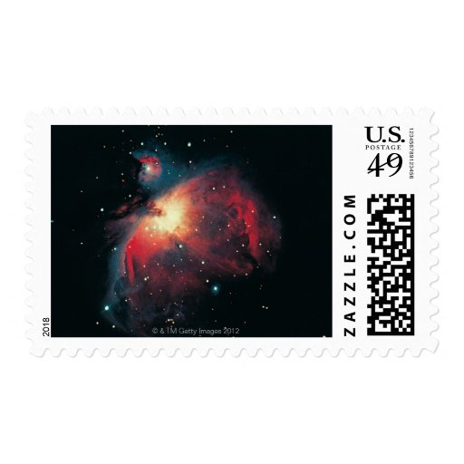 Gran nebulosa de Orión Sello Postal