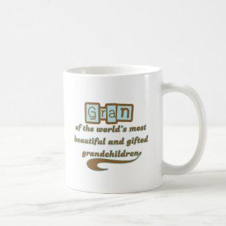 Gran of Gifted Grandchildren Coffee Mug