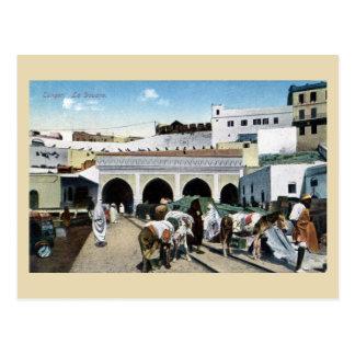 Gran oficina de aduanas de Marruecos Tánger del vi Tarjeta Postal