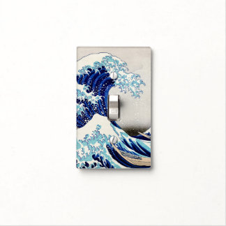 Gran onda de Kanagawa - cambie la placa Cubierta Para Interruptor