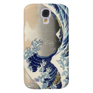 Gran onda de Kanagawa Funda Para Galaxy S4