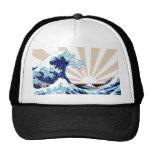 Gran onda de Kanagawa - gorra #1