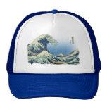 Gran onda de Kanagawa Gorras