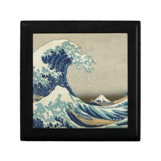 Gran onda de Kanagawa - Hokusai Caja De Joyas
