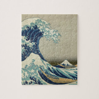 Gran onda de Kanagawa - Hokusai Rompecabeza Con Fotos