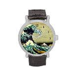 Gran onda de Kanagawa Reloj