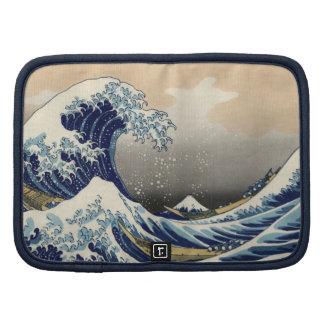 Gran onda de la bella arte de Kanagawa Oriental Organizadores