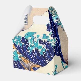 Gran onda de la bella arte japonesa del vintage de cajas para detalles de boda