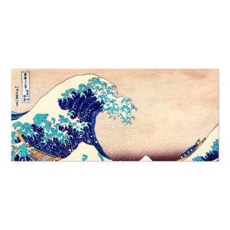 Gran onda de la bella arte japonesa del vintage de