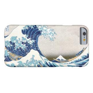 Gran onda de la multa japonesa del vintage de funda para iPhone 6 barely there