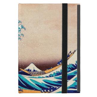Gran onda del arte japonés de la impresión del iPad mini carcasa
