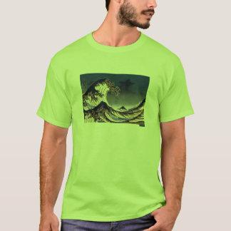 Gran onda del CYCAD de la camisa de Kanagawa