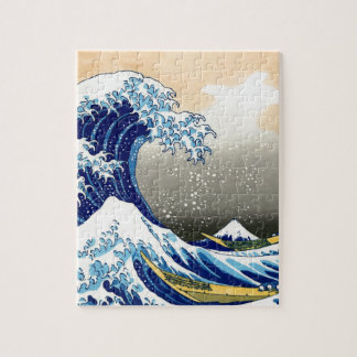 Gran onda del Hokusai de Kanagawa Puzzle