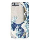 Gran onda del tsunami funda de iPhone 6 barely there