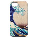 Gran onda del vintage del japonés de Kanagawa iPhone 5 Case-Mate Protectores