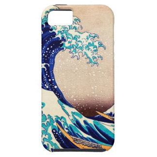 Gran onda del vintage del japonés de Kanagawa Funda Para iPhone SE/5/5s