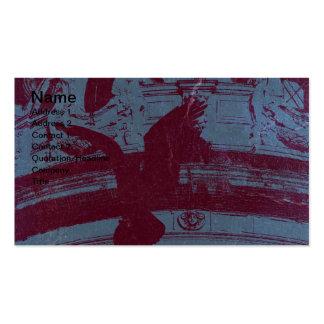 Gran ópera parisiense tarjetas de visita