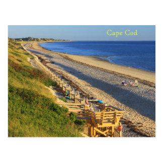 Gran opinión hueco de la playa de la bahía de la c postales