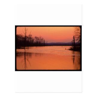 Gran pantano en Dusk.jpg Postal
