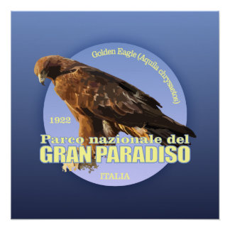 Gran Paradiso NP (Golden Eagle) WT Poster