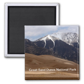 Gran parque nacional Colorado de las dunas de Imán Cuadrado