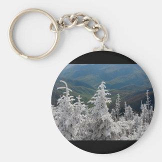 Gran parque nacional de la montaña ahumada llaveros