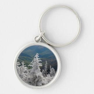 Gran parque nacional de la montaña ahumada llavero personalizado
