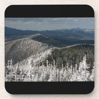 Gran parque nacional de la montaña ahumada posavasos