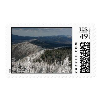 Gran parque nacional de la montaña ahumada sellos