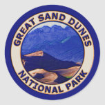 Gran parque nacional de las dunas de arena etiquetas