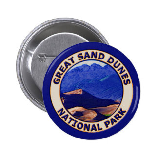 Gran parque nacional de las dunas de arena pin redondo 5 cm