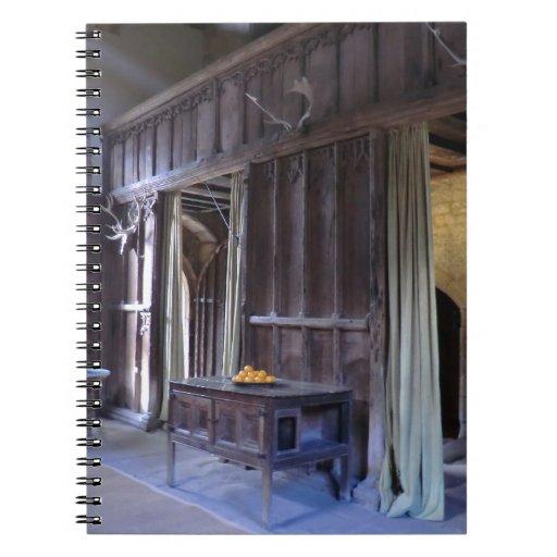 Gran pasillo en Haddon Pasillo Cuadernos