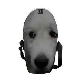 Gran perro blanco de los Pirineos Bolsas De Mensajería