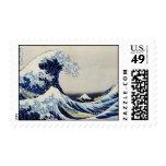 Gran pintura de la impresión de la onda de Hokusai Sellos