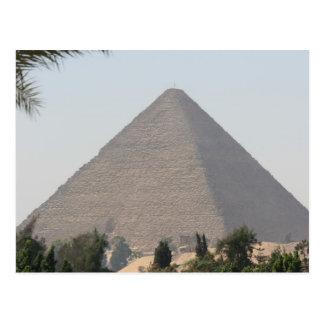 Gran pirámide de Giza Postal