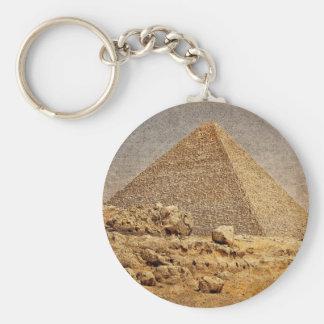 Gran pirámide de Khufu Llaveros Personalizados