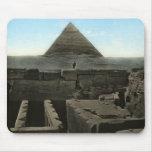 Gran pirámide Mousepad Tapete De Ratón
