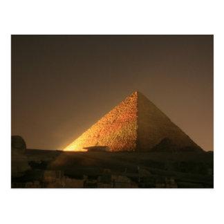 Gran pirámide tarjeta postal
