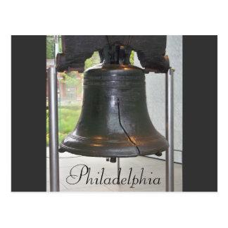 Gran postal de Bell de Philadelphia