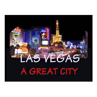 Gran postal de la ciudad de LAS VEGAS
