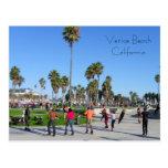 ¡Gran postal de la playa de Venecia!