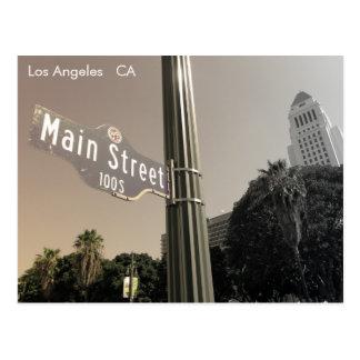 ¡Gran postal de Los Ángeles del estilo del vintage
