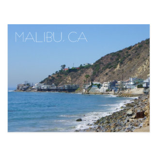¡Gran postal de Malibu!