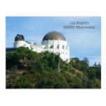 ¡Gran postal del observatorio de Griffith del LA!