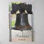 Gran poster de Bell de Philadelphia Póster