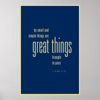 Gran poster de las cosas (LDS)