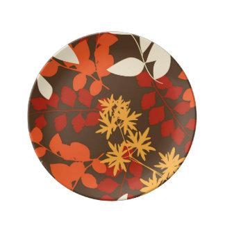 Gran potente potente potente plato de cerámica