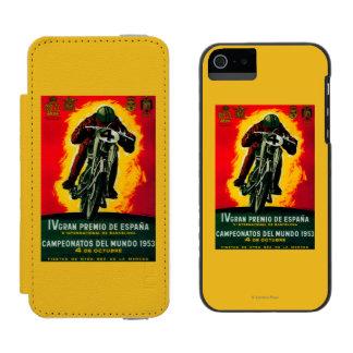 Gran Premio de Espana Vintage PosterEurope iPhone SE/5/5s Wallet Case