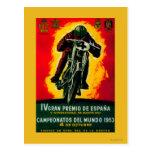 Gran Premio de Espana Vintage PosterEurope Postal