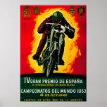 Gran Premio de Espana Vintage PosterEurope Poster